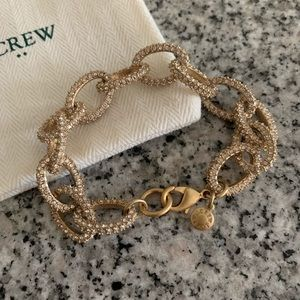 JCrew Jeweled Link Bracelet
